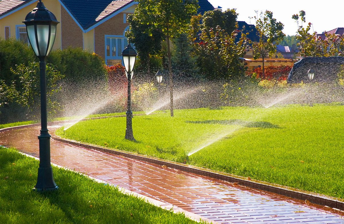 Lawn Sprinkler Systems Rochester NY